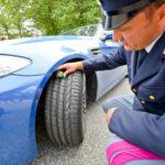 Ad Agrigento un conducente su 4 non utilizza pneumatici adeguati